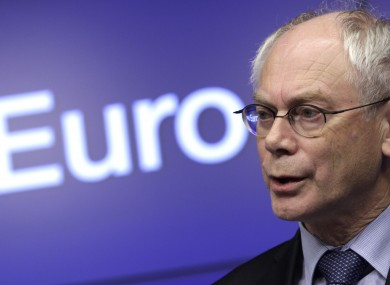 Herman van Rompuy is reportedly considering an amendment to a EU protocol - but, crucially, not to the Lisbon Treaty.