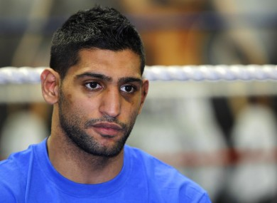 Khan appealed for a rematch following last week's controversial outcome.