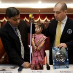 Indian woman Jyoti Amge, 18, is declared the
