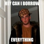 Scumbag Steve is an undesirable character that we are all, unfortunately, familiar with: he's the type of guy who always wants to borrow your car, who talks to your little sister too much, and who gets bitten during the zombie apocalypse... but tells no one.