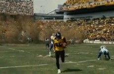 The Steelers' field gets eaten up in the new Batman movie