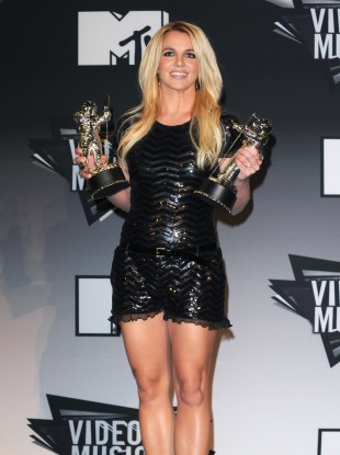 Britney at the MTV Video Music Awards in August