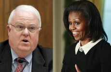 US politician apologises for comments about Michelle Obama's bottom