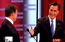 Watch: US presidential hopeful Romney offers rival $10,000 bet