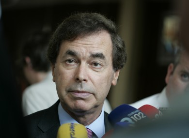 Minister for Justice Alan Shatter