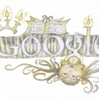Anya Clarke Carr, 2nd class, from Ratoath Junior National School Meath, Group 2 finalist in Doodle 4 Google competition.