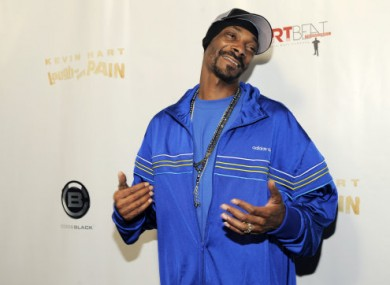 September 2011 photo of Snoop Dogg in LA.