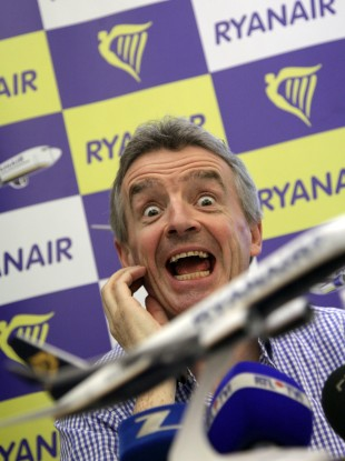 Shy and retiring Ryanair boss Michael O'Leary