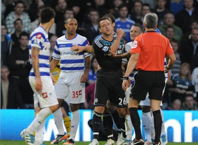 Terry has been accused of racially abusing Ferdinand.