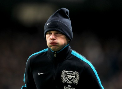 Many Arsenal fans have lost patience with Arshavin. 