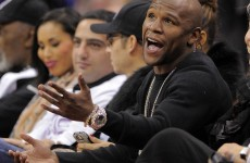 Seconds out… Floyd Mayweather Jr due to begin jail term