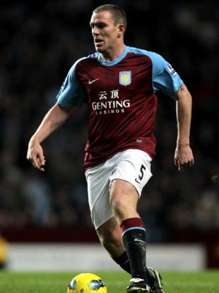 Richard Dunne starts in a strong Villa team