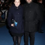 Abi Morgan, the writer of the screenplay with her guest. 