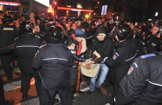 Nine injured in Bucharest anti-austerity protest
