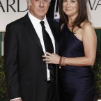 Dustin Hoffman and his wife Lisa pictured before the awards show. (AP Photo/Matt Sayles/PA Images)