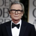 Bill Nighy looking dapper on the Golden Globes red carpet last night. (AP Photo/Matt Sayles/PA Images)