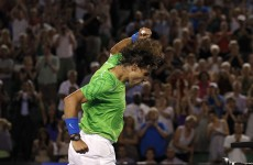 Nadal battles into semi-final showdown with Federer