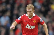 Wow again: Paul Scholes comes out of retirement…