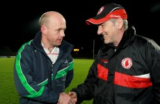 McKenna Cup: Harte and Canavan to do it all again this weekend