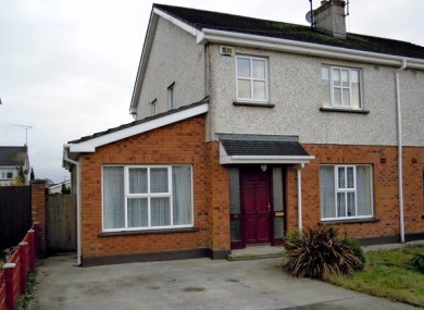 The house at Ardleigh Park, Mullingar, Co Westmeath