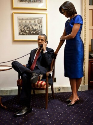 Obama calls Buchanan's father last night to inform him that his daughter was