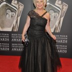 This year's Lifetime Achievement IFTA winnter actress Fionnuala Flanagan looking glam before collecting her prize. (Photo by KOBPIX)