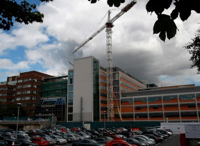 The location of the now-scrapped National Children's Hospital on the Mater site in Dublin
