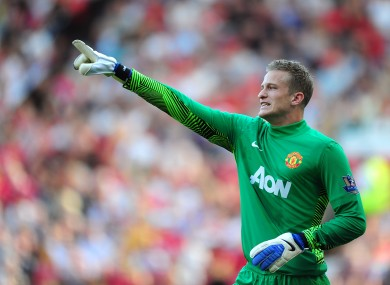 Anders Lindegaard: ligament damage.