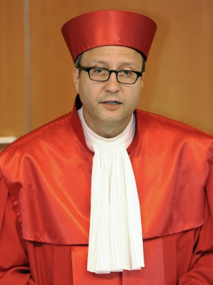 Chief justice Andreas Vosskuhle
