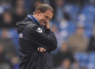 Simon Grayson: sacked.