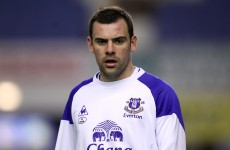 Confirmed: Darron Gibson out of Czech test with knee injury