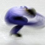 Hong Kong's Harry Hau Yin Lee performs in the men's short program during the Four Continents figure skating championships. 