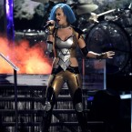 Katy Perry performing during the 54th annual Grammy Awards (AP Photo/Matt Sayles)