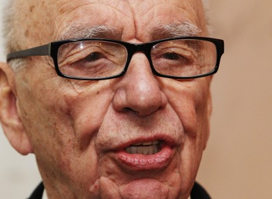 Media baron Rupert Murdoch