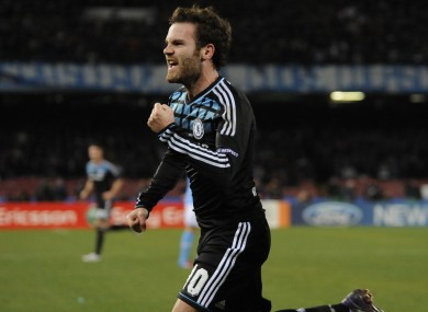 Juan Mata: The only reliable chap at the bridge.