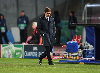 Is Andre Villas Boas marching towards the exit?