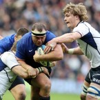In the scrum, France held firm and the ramparts were solid to steal a late victory. You can't ask much more from a prop than that.