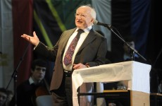 Michael D to arrive in London on first official trip abroad