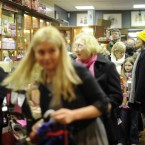 Inside The Dollstore on Saturday. 