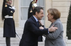 Merkel backs Sarkozy for second-term as French president
