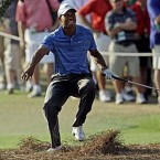 Tiger was undergoing a knee scope after the Masters when doctors discovered that his ACL was completely torn.