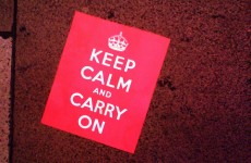 Watch: A short history of the iconic 'Keep Calm and Carry On' poster