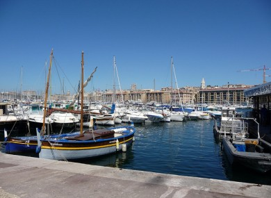 File photo of Marseille.
