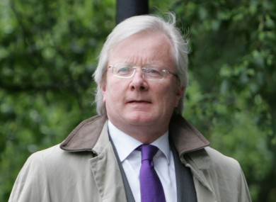Judge Alan Mahon (File photo)