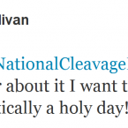 Darran O'Sullivan urges women to embrace National Cleavage Day.