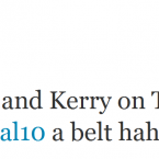 David Meyler is not a fan of the Kerry forward, it seems.