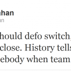 Frankie Sheahan gives his opinion on the Ireland team.