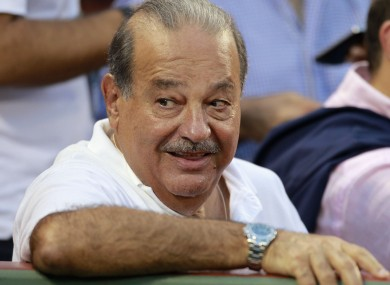 Happy days for Mexican billionaire Carlos Slim