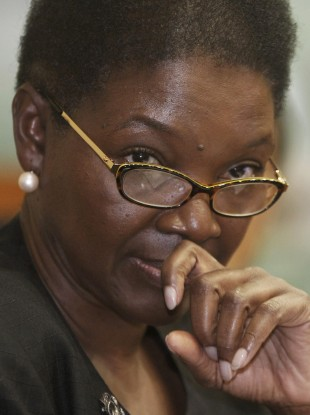 Guyanese Valerie Amos, undersecretary-general for Humanitarian Affairs and Emergency Relief Coordinator at the United Nations