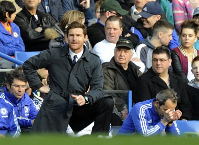 Villas-Boas has come under fire following a series of inept performances from his side.